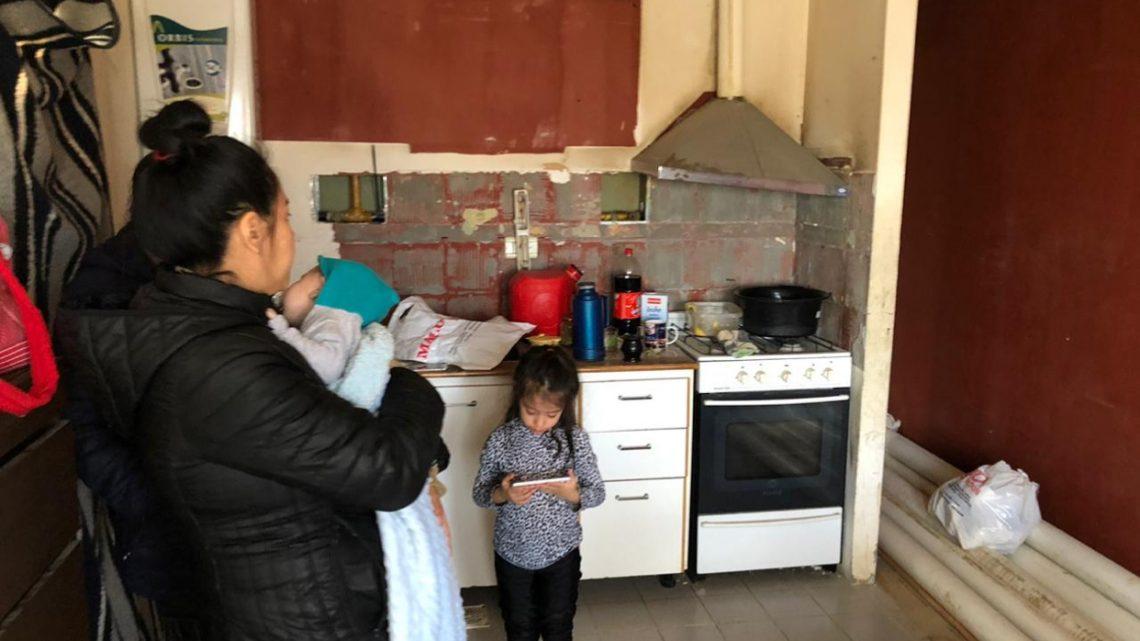 Una Vivienda De La Margen Sur Fue Ocupada Por Una Mujer Y Sus Hijos