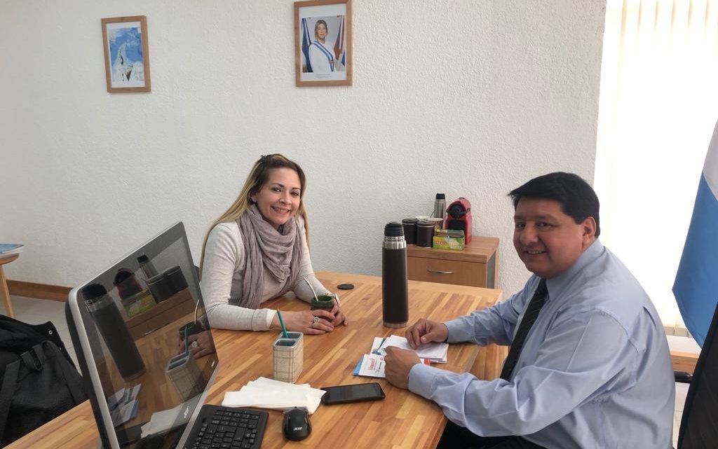 LOS CONCEJALES ELECTOS SUSÑAR  Y ABREGÚ COORDINAN UNA AGENDA DE SALUD PARA RÍO GRANDE