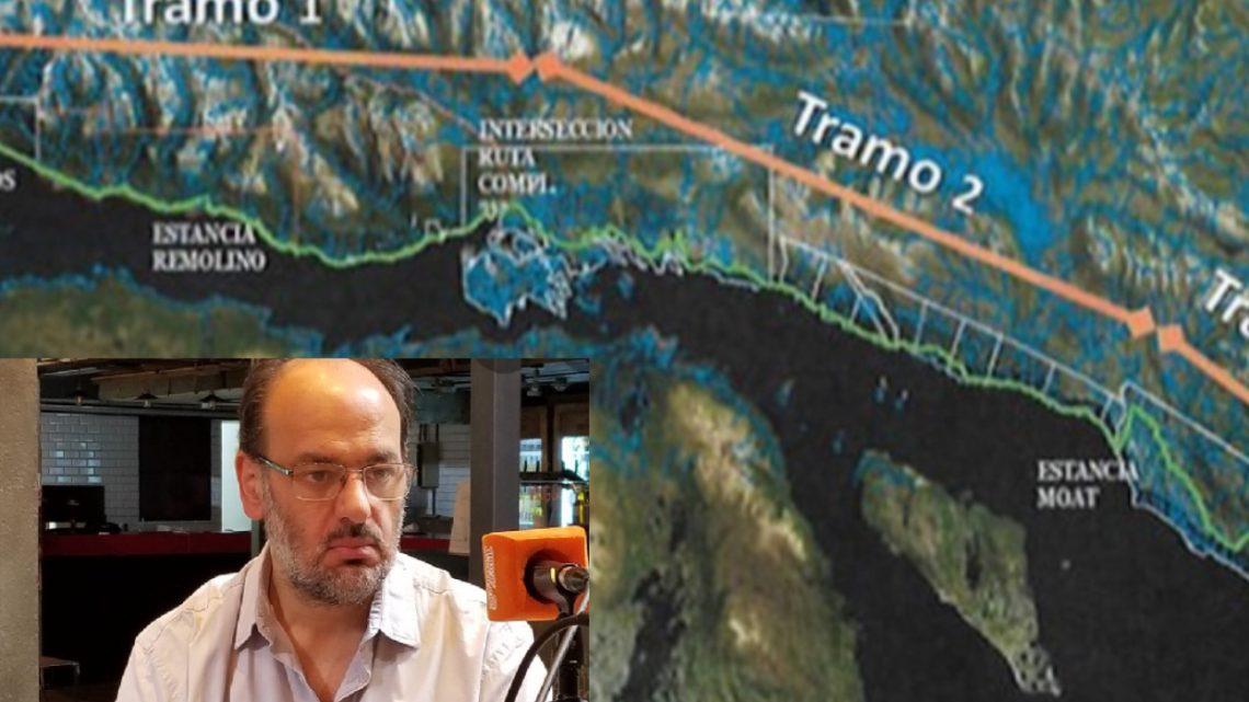 """Ángel Brisighelli: """"No se puede hacer una ruta sin tirar árboles, es de sentido común"""""""
