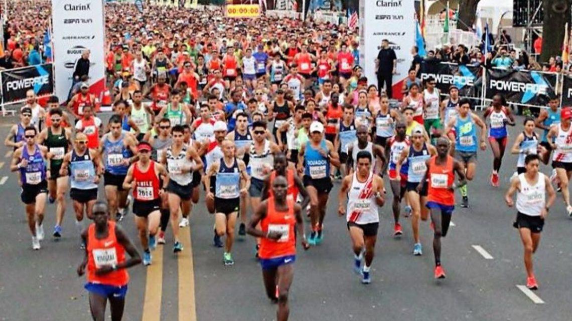 Atletas Fueguinos, Presentes En El Maratón De Buenos Aires 2019