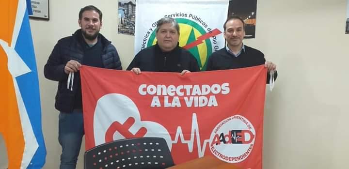 Santiago Barrientos celebró  la adhesión de la provincia a la Ley de Electrodependientes