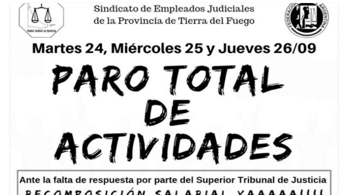 Judiciales De La Provincia Inician Tres Días De Paro