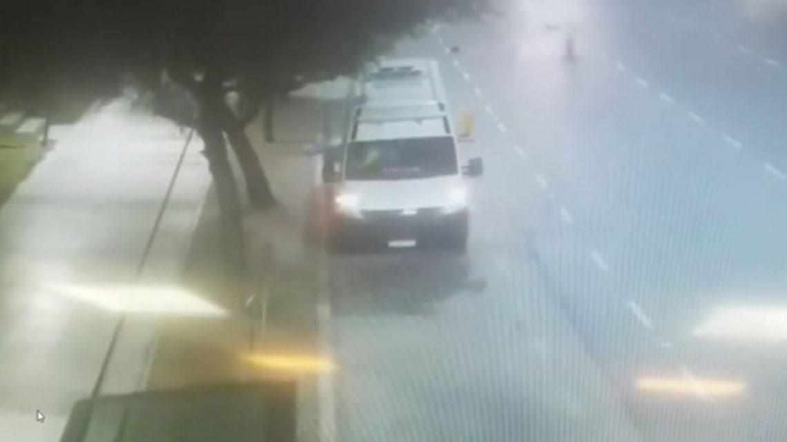 Video: el momento en que Eugenio Veppo atropella y mata a Cintia Choque