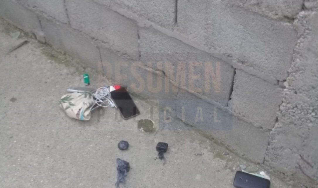 Demoraron a dos jóvenes con marihuana en los patios internos de Intevu