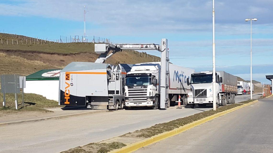 Ponen operativo el escaner de camiones para el paso fronterizo San Sebastián