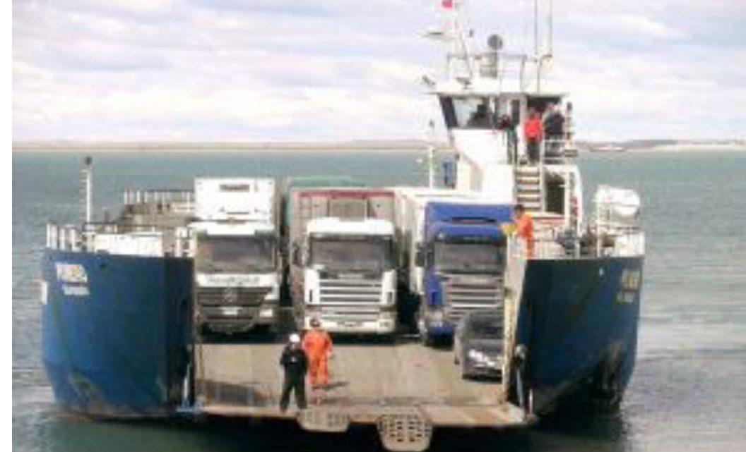 Sin servicio de barcaza hasta nuevo aviso por vientos intensos