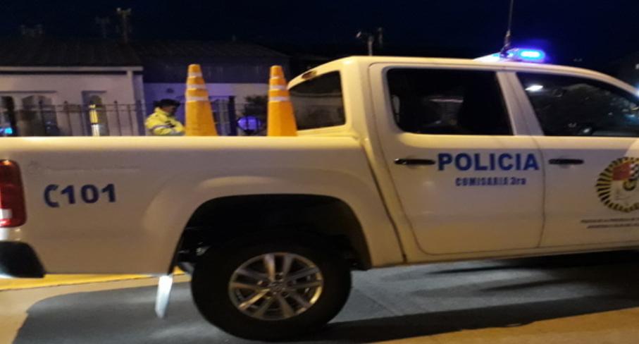 Dos jóvenes delincuentes fueron detenidos in fraganti