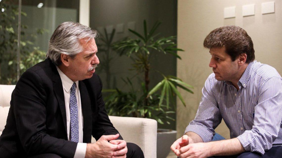 Melella destacó intención de Fernández de revisar acuerdos con el Reino Unido