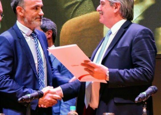 """Caballero: """"Alberto Fernández está devolviendo la confianza que la industria nacional necesitaba y eso es extraordinario"""""""