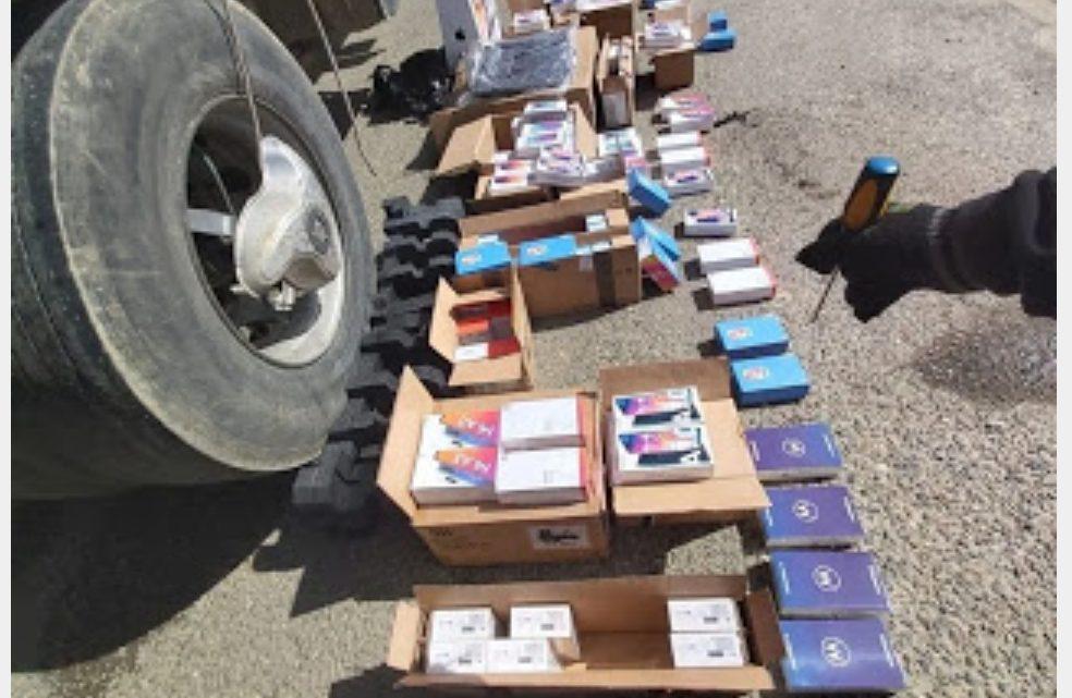 Contrabando de celulares en la frontera
