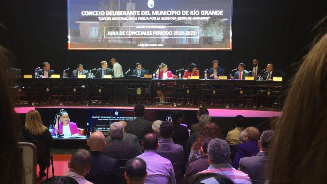Juraron los nuevos Concejales y Von der Thusen fue electo como Presidente del cuerpo legislativo