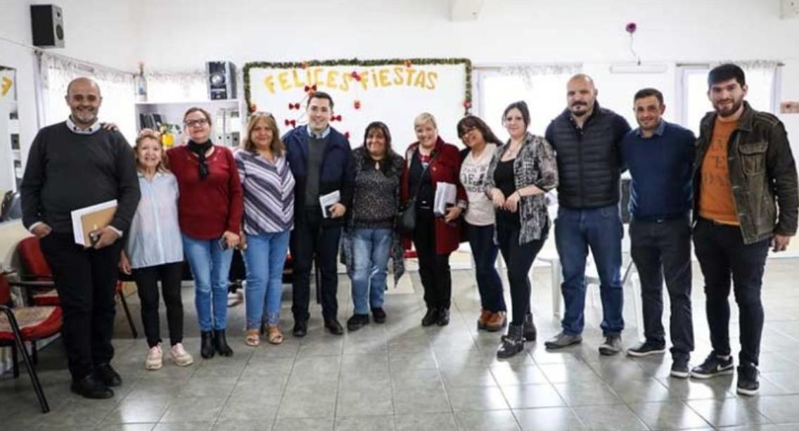 """""""La idea es fortalecer la presencia del estado municipal en los barrios"""""""