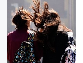 Alerta en Río Grande: Se esperan vientos de hasta 100 km/h