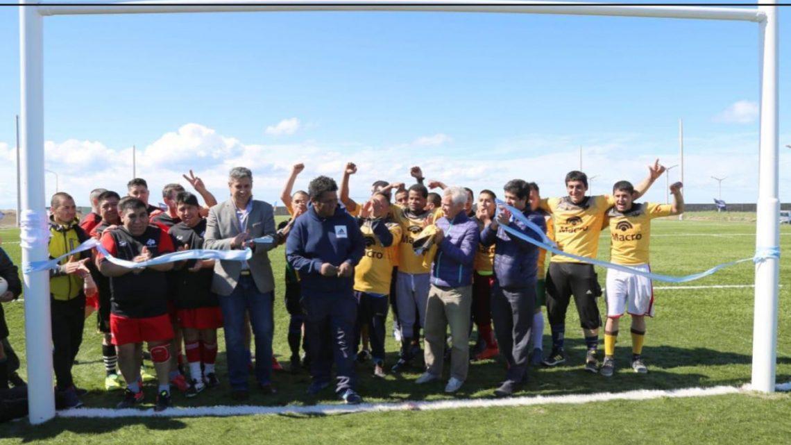 Gobierno Inauguró La Cancha De Rugby Del Servicio Penitenciario