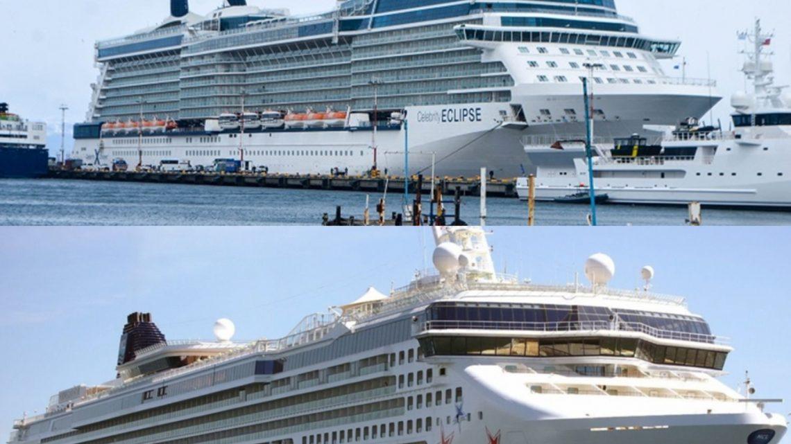 """«Norwegian Star» y """"Celebrity Eclipse"""" arriban mañana al puerto de Ushuaia"""