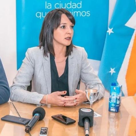 Victoria Vuoto se solidarizó con los empleados del Gobierno Provincial
