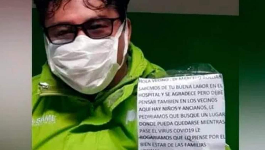 Es médico del SAME y los vecinos lo quieren echar: «No tengo dónde irme»