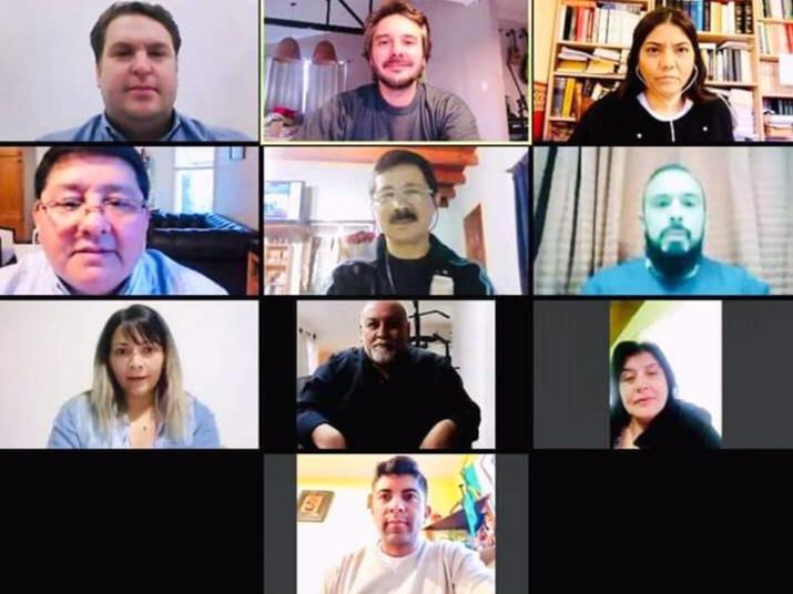 Por videoconferencia  Concejales realizaron un plenario de comisiones