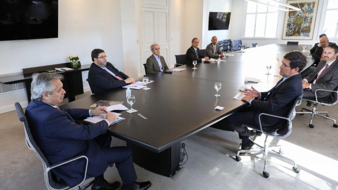 El presidente Alberto Fernández recibió a representantes de la industria farmacéutica