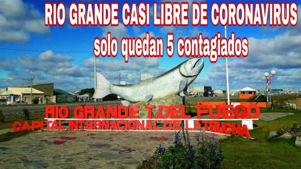 Coronavirus: En Río Grande Sólo Quedan 5 Contagiados