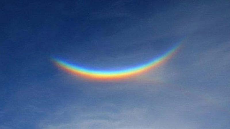 Apareció Un Arco Iris Al Revés En El Cielo De Italia: Qué Significa Este Extraño Fenómeno