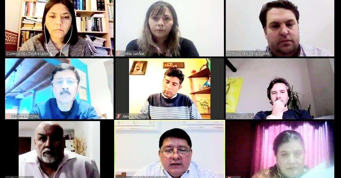 Se llevó a cabo por videoconferencia la comisión Nº3 de Salud y Discapacidad que preside el concejal Walter Abregú