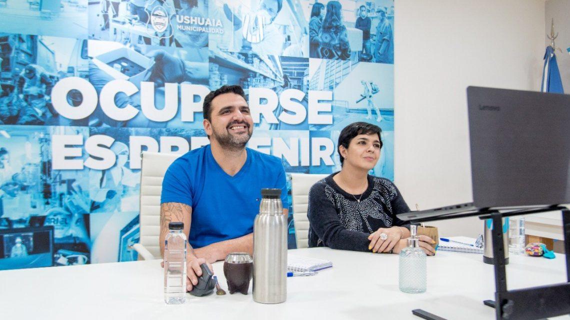 VUOTO JUNTO A GARAY SE REUNIERON CON CENTROS DE JUBILADOS DE LA CIUDAD