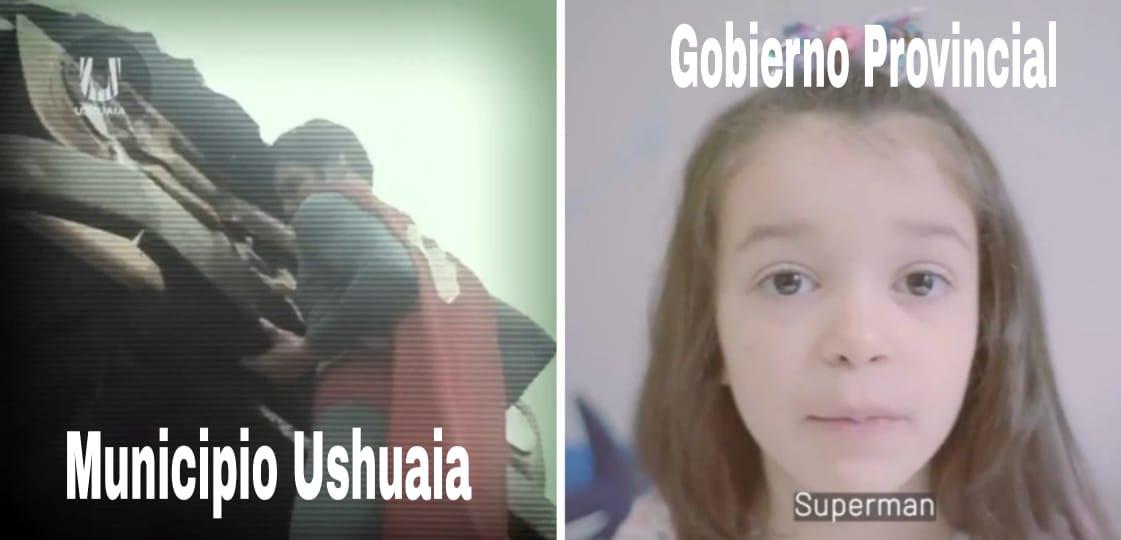 [VIDEO] PAPELÓN GOBIERNO LE COPIÓ EL SPOT DE SUPERHÉROES A LA MUNICIPALIDAD DE USHUAIA
