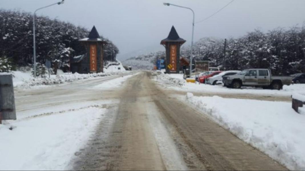 Se Esperan Tres Días Consecutivos De Lluvias Y Nevadas En Ushuaia