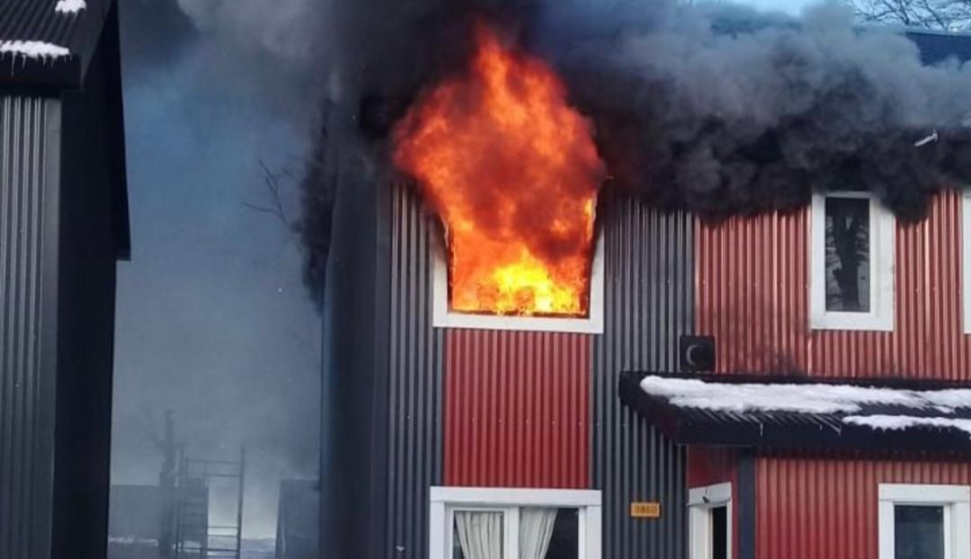 Ushuaia: Un niño jugaba con fósforos e incendió su casa