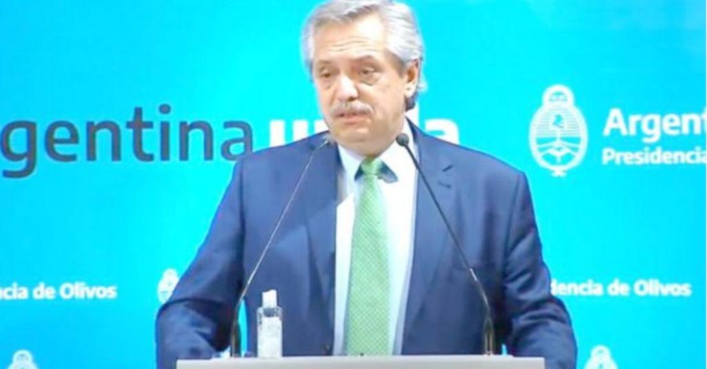 Alberto Fernández: «Querían salir a correr, a abrir los comercios, acá están las consecuencias»