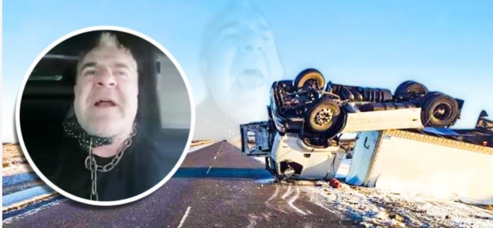 Camionero venía «pisteando como un campeón» y escuchando los Redondos, maniobró mal y volcó