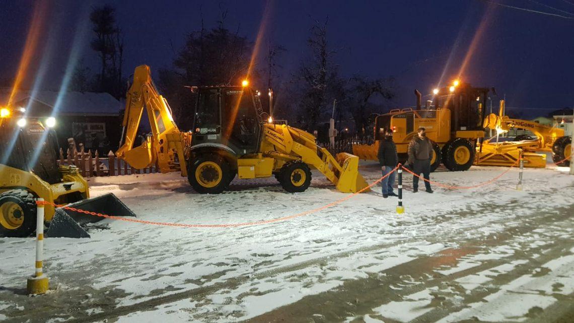 Tras años sin inversión, el Municipio de Tolhuin adquirió tres máquinas
