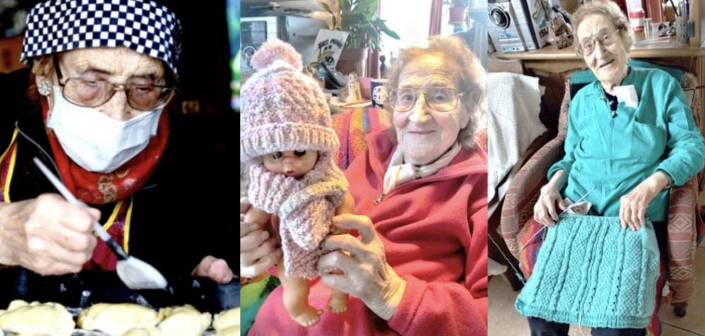 ¡LA ABUELA MÁRGARA CUMPLE HOY 104 AÑOS!