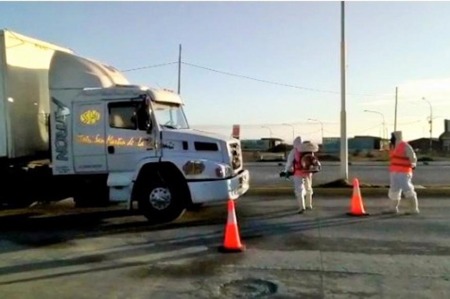 Proponen crear un centro logístico para evitar que entren camiones llegados del norte a Río Grande
