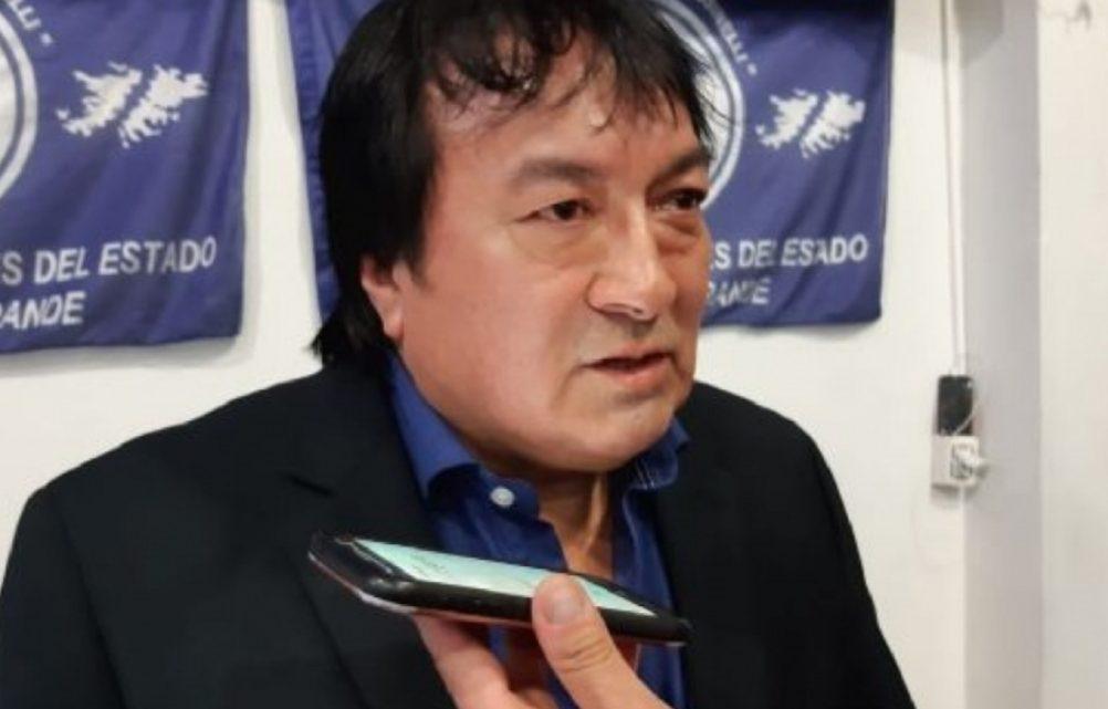 """""""Hoy un trabajador no puede estar por debajo de los 70 u 80 mil pesos de bolsillo"""" apuntó el referente de ATE en Río Grande"""