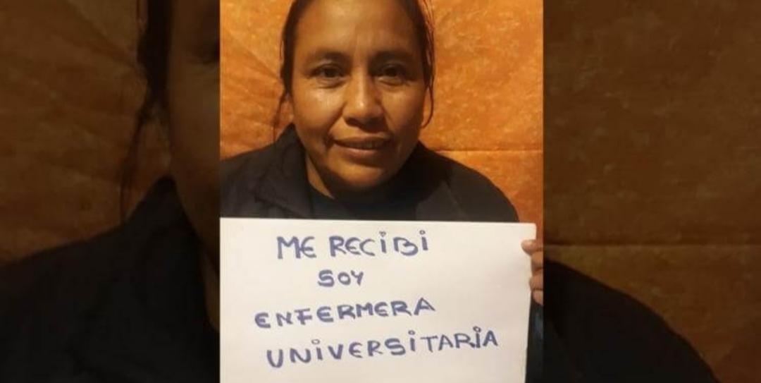 Una mujer con de 43 años se recibió por Zoom en plena cuarentena: «Soy enfermera universitaria»