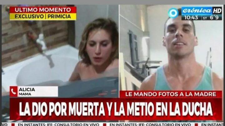 Creyó haber matado a su pareja y le mandó fotos a la mamá de la víctima
