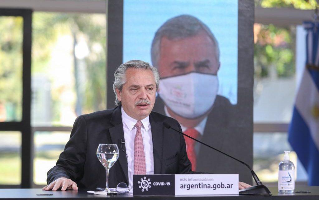 Coronavirus: El Presidente anunció una apertura escalonada de las actividades entre el 18 de julio y el 2 de agosto