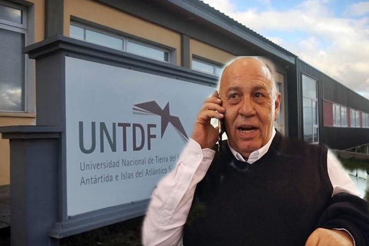 Denuncia Penal contra el Rector de la UNTDF, Castelucci