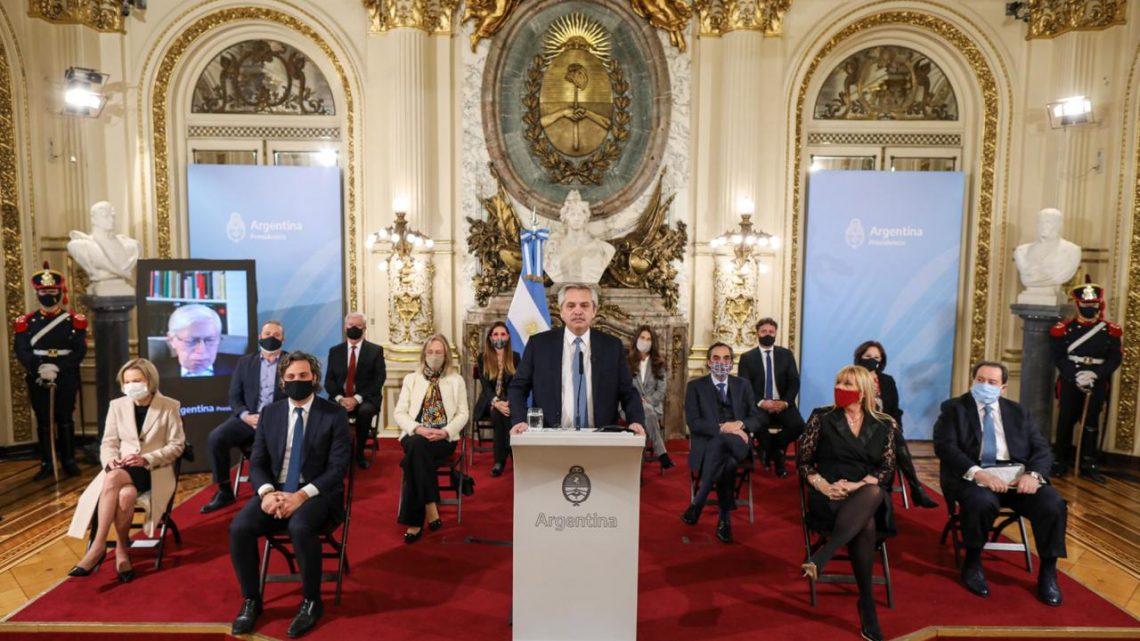 El presidente Alberto Fernández presenta el proyecto de reforma judicial