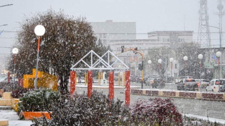 Una vez más la nieve sorprendió a los vecinos de la ciudad