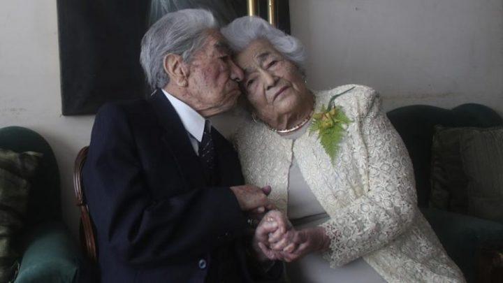 Se casaron en secreto hace 79 años y son la pareja más longeva del mundo
