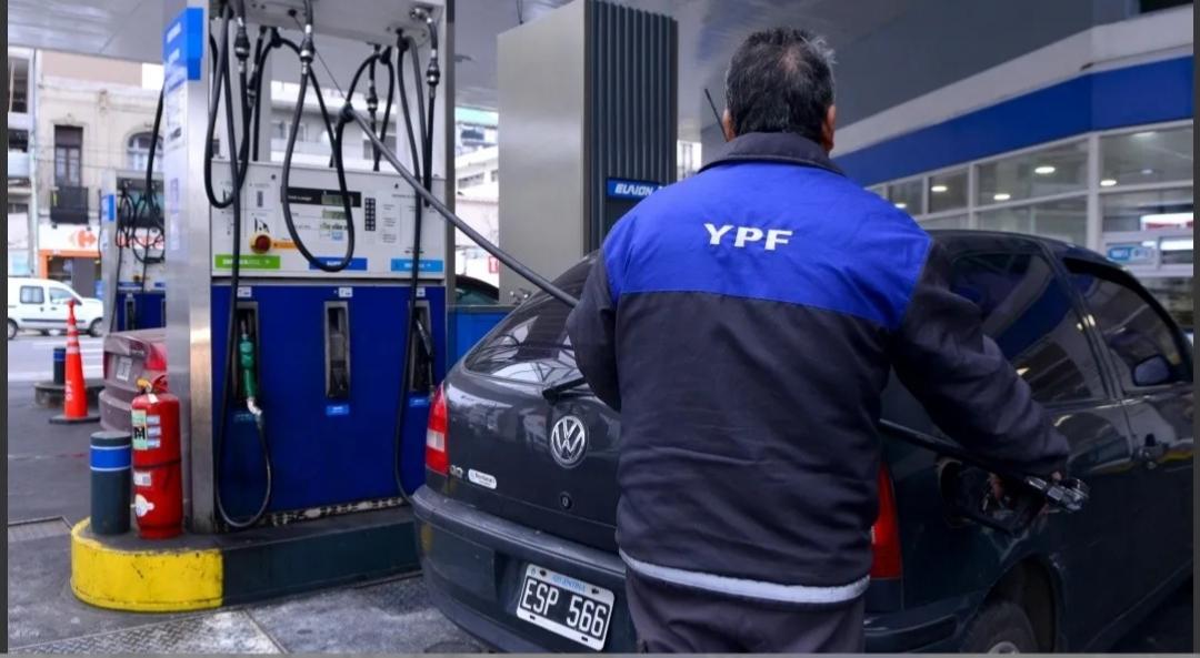 YPF vuelve a aumentar las naftas: ahora en un 3,5%