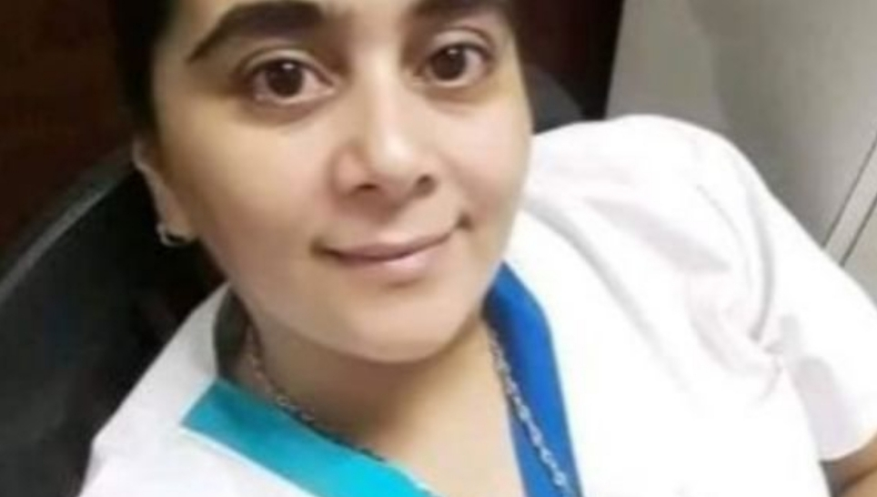 Profundo dolor por la muerte de una enfermera que se contagió coronavirus atendiendo enfermos