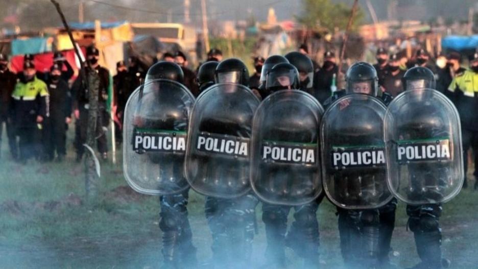 Organismos de derechos humanos repudiaron el desalojo en Guernica