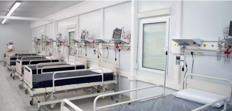 Vuoto destacó la decisión de Nación de instalar un hospital modular en la ciudad