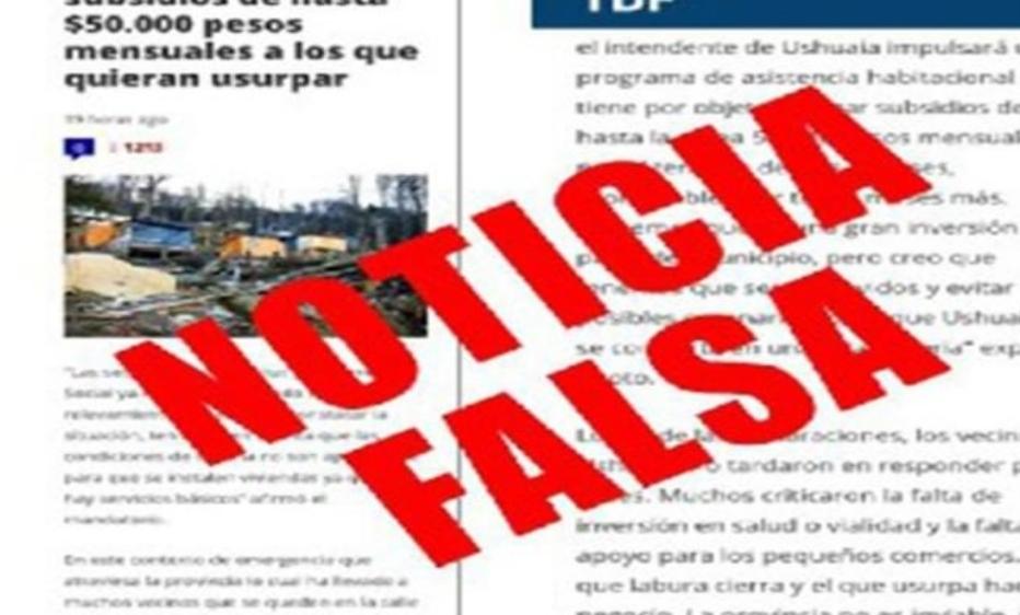 VUOTO REALIZÓ UNA DENUNCIA PENAL CONTRA LOS RESPONSABLES DE INCENTIVAR USURPACIONES