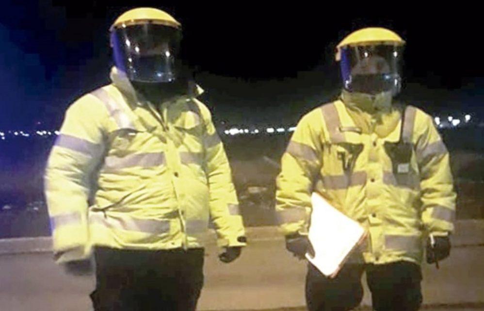 Pagaran un extra a Policias y Penitenciarios afectados con Coronavirus