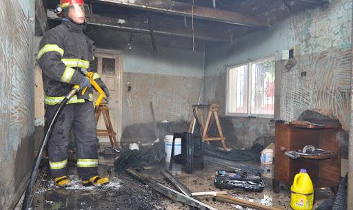 RÍO GRANDEHabrían incendiado intencionalmente una casa y la dueña no aparece
